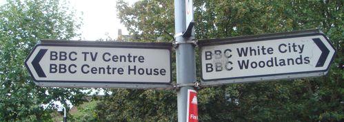 BBC 本社ホワイトシティ駅前