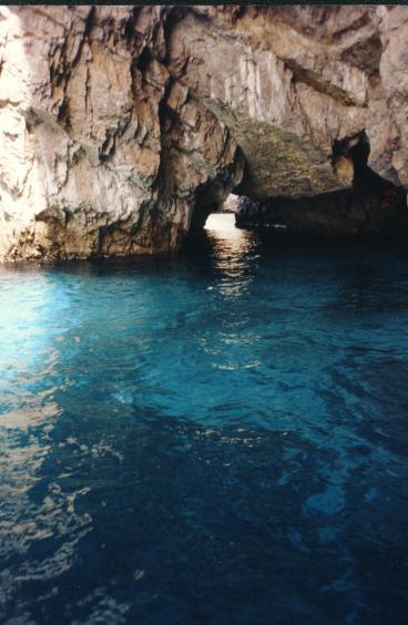 青の洞窟 カプリ島 ナポリ