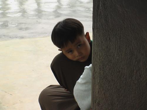 バンコク ワットポーの少年寺守り
