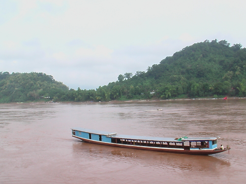 メコン河 ルアンプラバン