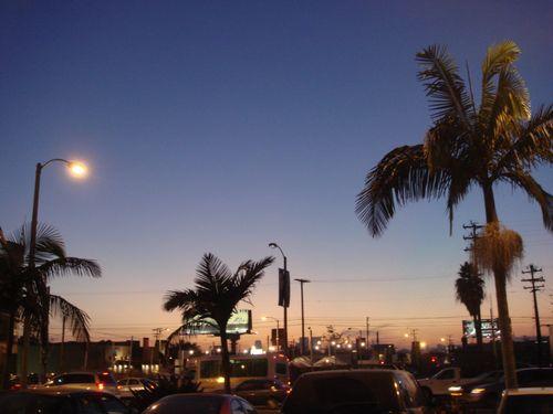 夕焼け ロサンゼルス Globe