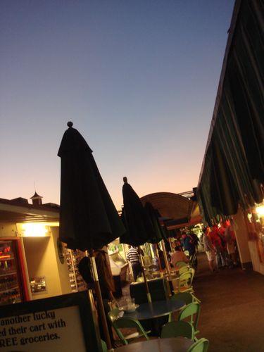 ロサンゼルス夕焼け