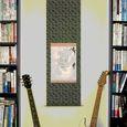 掛け軸とギター