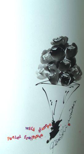 花束の薔薇