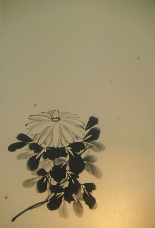 水墨画 菊 - Chrysanthemum -