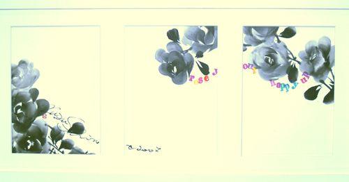 Rose Series Sumie